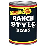 One 15 oz can of Ranch Style Black Beans Canned Beans Ranch Style black beans with the bold taste of authentic southwestern cooking Canned black beans made with a unique blend of spices Canned Ranch Style beans can be paired with soups, tacos, dips o...