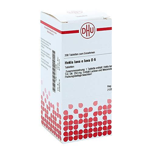 DHU Hekla lava e lava D6 Tabletten, 200 St. Tabletten