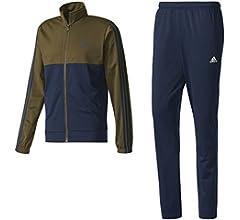adidas Back2Bas 3S TS Chándal, Hombre, Azul (Maruni/roalre/Blanco ...