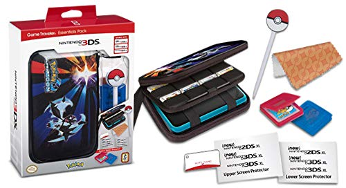 Officially Licensed NINTENDO 3DS™ GAME TRAVELER® Essentials Pack Compatible with New Nintendo 2DS™XL New Nintendo 3DS™XL and Nintendo 3DS™XL systems - Ultramoon