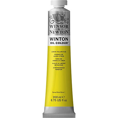 Winsor & Newton Winton 200-Milliliter Oil Paint, Lemon Yellow Hue [Misc.] (japan import)