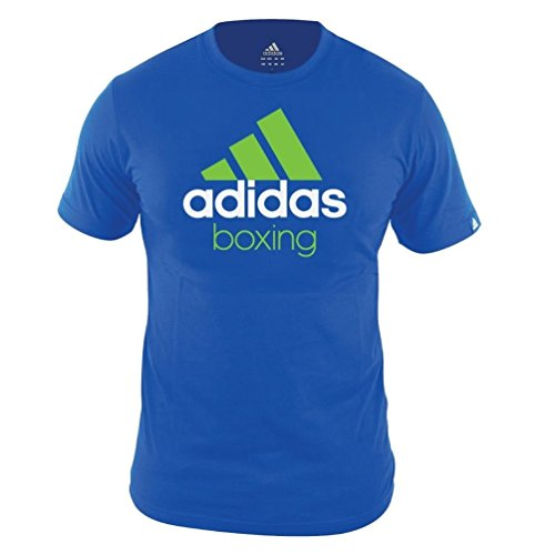 adidas Boxing MMA Herren Oberteile/T-Shirt Community Blau S