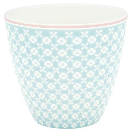 GreenGate - Becher, Tasse, Kaffeetasse, Latte Cup - HELLE - Pale Blue/hellblau - 300 ml