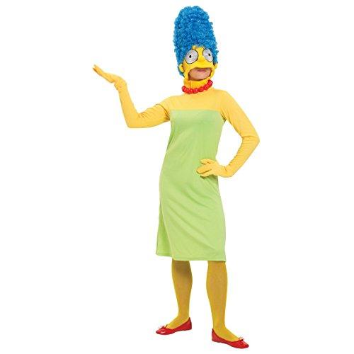 Marge Frauenkostüm Die Simpsons Kostüm bunt L 42/44 Comic Kostüm Marge Simpson Ganzkörperkostüm Damenkostüm