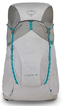 Osprey Lumina 45 Women's Ultralight Backpacking Pack - Cyan Silver (WS)