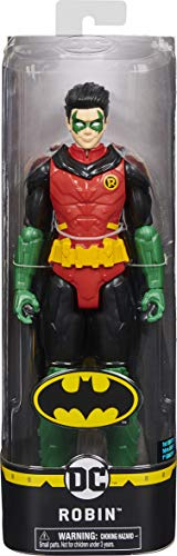 DC Comics BATMAN 12 Inch ROBIN Action Figure, for Kids Aged 3 and up
