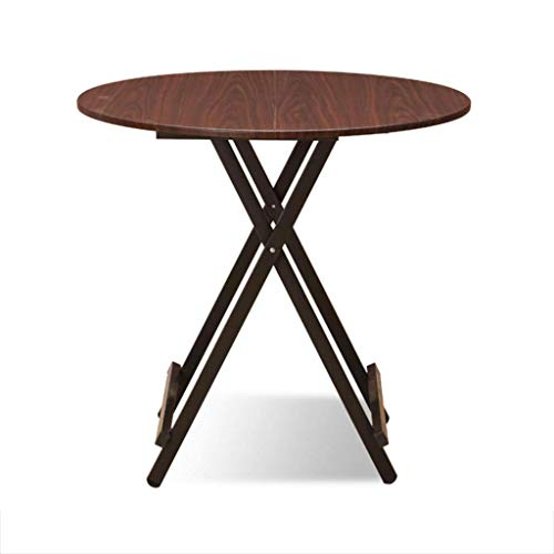 ZXL Opvouwbare massief houten tafel, catering keuken en salontafel, outdoor campingtafel, ronde opklapbare werktafel, bureau (kleur: stijl-6)
