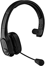 PRO Wireless Headset Works for HTC One (M8) Harman Kardon Edition with Boom Dual V5.0 Bluetooth Plus 3.5mm 1/8 Backup Cable (Black)