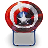 Delta Children Saucer Chair for Kids/Teens/Young Adults, Avengers