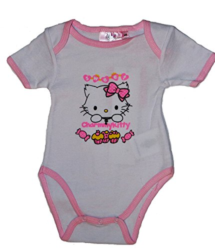 Charmmy Kitty - Body - para bebé niña blanco 3 mes
