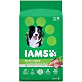 IAMS PROACTIVE HEALTH Adult Minichunks Small Kibble High Protein Dry Dog Food with Real Chicken, 7 lb. Bag