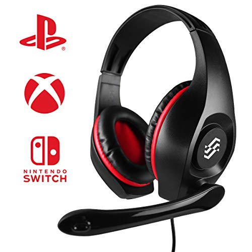 Two Dots Cuffie Storm Rosso Ps4