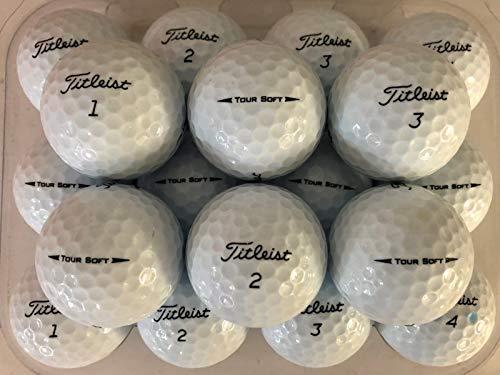 TITLEIST 24 Tour Soft Golf Balls PearlGrade A used Lake Balls