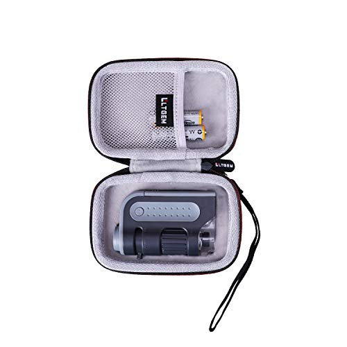 LTGEM Case for Carson MicroBrite Plus 60x-120x LED Lighted Pocket Microscope (MM-300 or MM-300MU)
