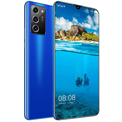 HYDL Moviles Baratos Nuevos Libres, Android 10.0 teléfono móvil 7.1', 4GB + 64GB, 5600mAh Baratos Smartphone, cámara 48MP+32MP, Ranura para 3 Tarjetas, 5G Dual SIM (Green)