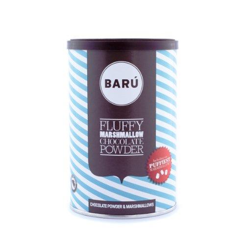 Barú Fluffy Marshmallow Chocolate Powder, 2er Pack (2 x 250 g)