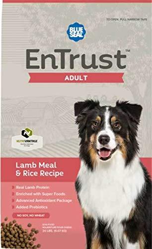Blue Seal EnTrust Adult Lamb Meal & Rice Dog Food (6 Pounds)