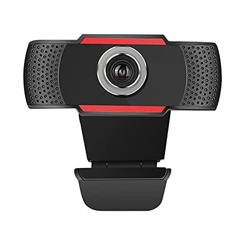 Freljorder Cámara Web de videollamada de PC de Escritorio con cámara Web Full HD 1080P con micrófono y micrófono