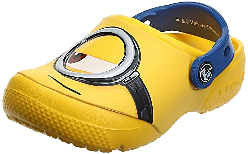 Crocs Fun Lab Minions Clog, Sabots Mixte Enfant, Jaune (Yellow) 27/28 EU