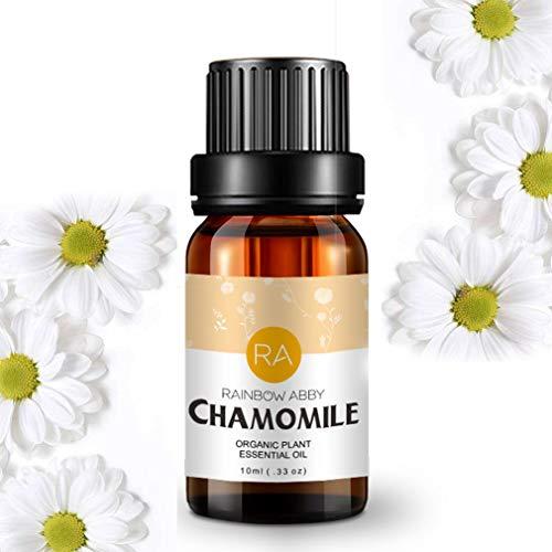 Chamomile Essential Oil - 100% Pure Natual Plant Olis, Best Therapeutic Grade - Aromatherapy, Massage, Beauty - 10ml
