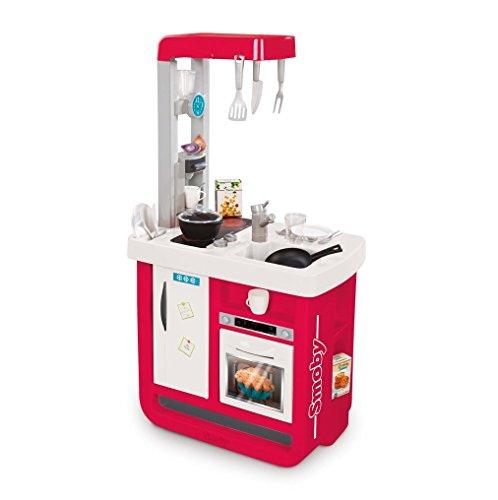 Smoby-310813 Cocina Bon Appetit, Color Rosa (310813)