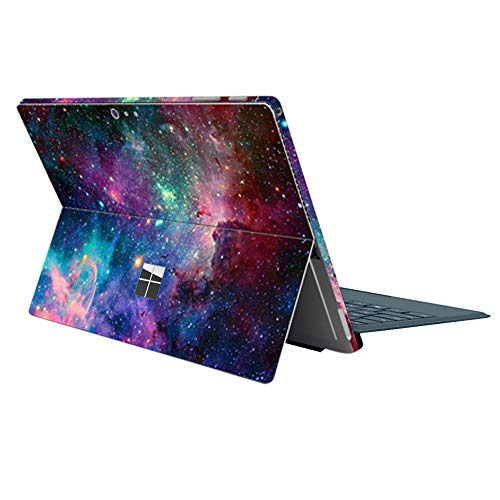 ProElife Nebula Series Ultra Slim Surface Sticker Protector Decal Skin Cover for for Microsoft Surface Pro 6 2018 / Pro 5 2017 / Pro 4 12.3-Inch (Not Fit for Surface Pro 7) (Nebula Colorful)