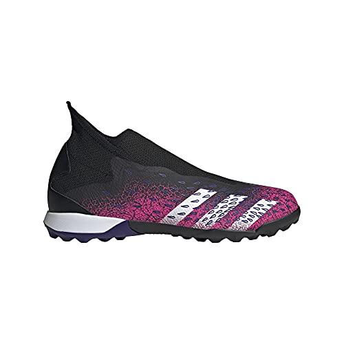 adidas Predator Freak .3 LL TF, Zapatillas de fútbol Hombre, NEGBÁS/FTWBLA/ROSSHO, 45 1/3 EU