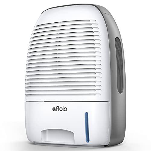 Deshumidificador, deshumidificador Afloia 1500ml, secador de aire compacto, portátil y silencioso contra la humedad, la suciedad y el moho en la casa, baño, oficina o bodega, deshumidificador
