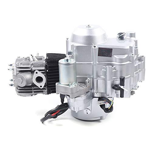 TBVECHI 110cc 4-Stroke Engine Motor Auto Electric Start Single Cylinder Engine for 50cc 70cc 90cc 110cc ATVs Go Karts TaoTao Sandrail Roketa