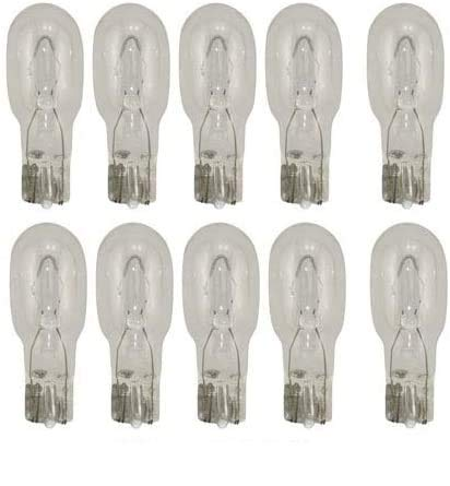 10 Pack - Replacement Bulbs for Kichler Lighting 10574CLR - 18W Xenon Bulbs