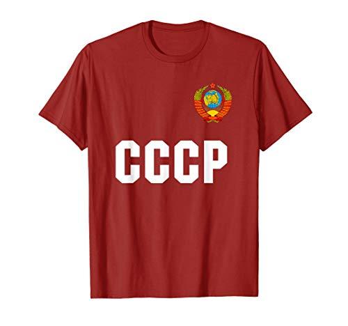 Russia CCCP UdSSR Russland Fussball Trikot T Shirt T-Shirt
