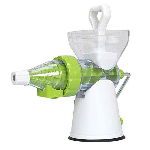 ZHJ Nuovo 2 in 1 Manuale Multifunzione Il Soft Ice Cream Maker Frutta Manuale estrattore centrifuga frullatore spremitore Limone Spremiagrumi Cucina