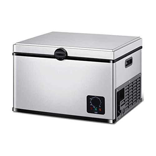 XTZJ Refrigerador portátil / congelador / nevera 35 litros, mini camión de automóvil RV Barco nevera refrigerador eléctrico refrigerador para conducir, viajar, pescar, Picnic, Camping Uso al aire libr