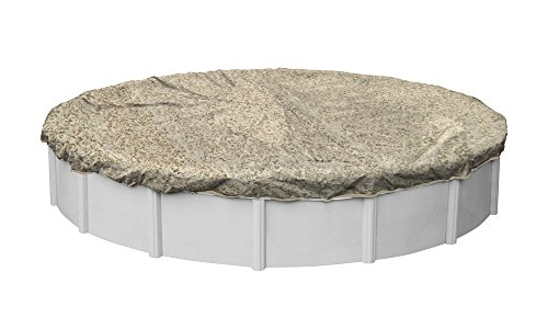 Robelle 5318-4 Desert Camo Winter Pool Cover for Round Above Ground Swimming Pools, 18-ft. Round Pool