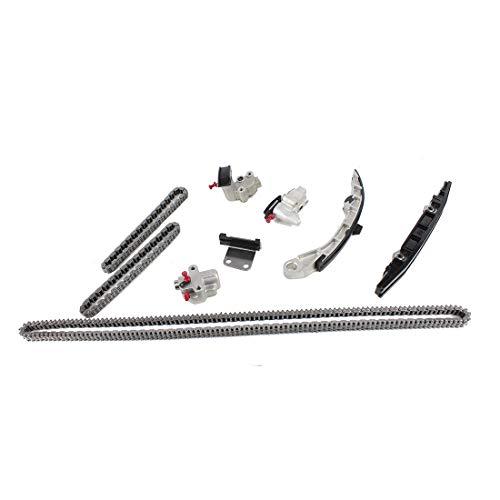 DNJ TK656NG Timing Chain Kit for 2007-2015 / Infiniti, Nissan/Altima, JX35, Maxima, Murano, Pathfinder, Quest, QX60 / 3.5L / DOHC / V6 / 24V / 3498cc / VQ35DE
