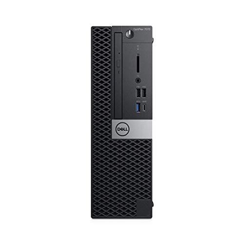 Dell OptiPlex 7070 9th gen Intel Core i7 i7-9700 16 GB DDR4-SDRAM 256 GB SSD Black SFF PC OptiPlex 7070, 3 GHz, 9th gen Intel Core i7, 16 GB, 256 GB, DVD-RW, Windows 10 Pro