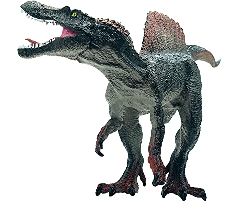 Gemini&Genius Jurassic World Dinosaur Toys Super Colossal Carnivorous Dinosaur Spinosaurus Action Figures with Movable Jaw Birthdays Party Supplies Gifts for Kids
