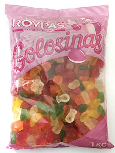 Roypas Gummy Frutitas Brillo Sin Azúcar Bolsa 1 kg