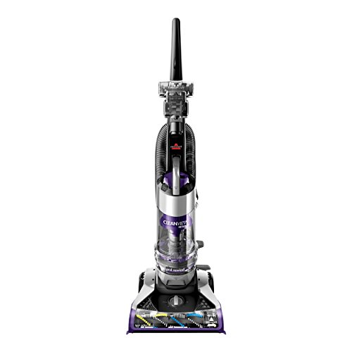 Bissell CleanView Rewind Deluxe Upright Bagless Vacuum, Purple