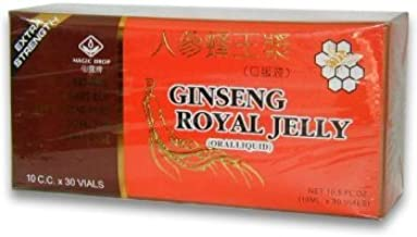 Ginseng Royal Jelly (Extra Strength)- Oral Liquid In Vials (10ml x 30vials) by Royal King