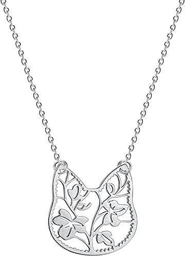 NC198 Collar de Luna de Acero Inoxidable para Mujer, joyería de Galaxia, Collar con Colgante de Esmalte de Luna de meteorito