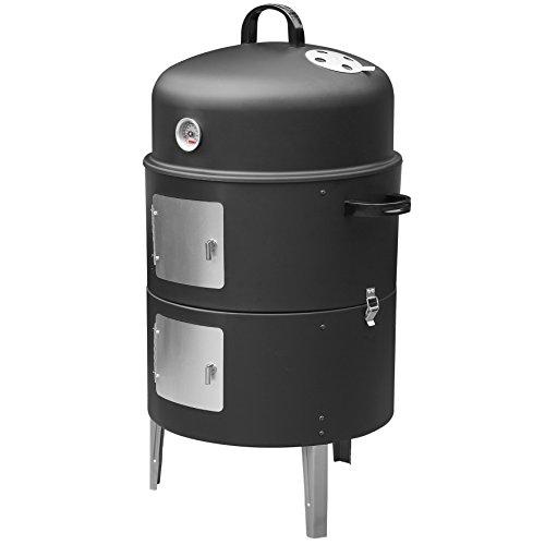 Barbecook Fumoir Noir 45 x 25 x 45 cm
