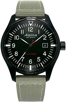 Alpina Startimer Pilot Black Dial Men's Watch