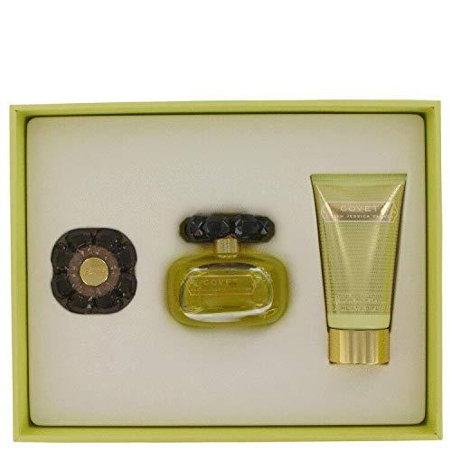 Covet - Set de regalo EDP 100 ml + loción corporal + perfume compacto
