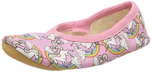 Beck Rainbow, Zapatillas de Gimnasia para Niñas, (Rosa 03), 27 EU