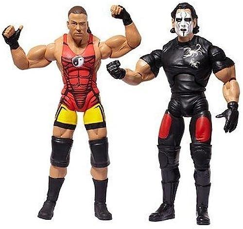 comprar descuentos TNA Wrestling Cross Cross Cross the Line Series 4 Action Figure 2Pack RVD Sting by Jakks  Garantía 100% de ajuste