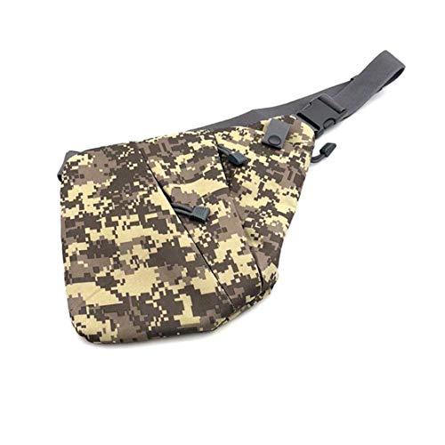 Borsa per pistola tattica multifunzionale / Borsa antifurto per spalla personale / Tasca sportiva da uomo con tasca aperta Materiale: nylon Dimensioni: 260 * 235mm