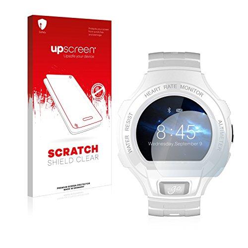 upscreen Protector Pantalla Compatible con Alcatel Go Watch Película Protectora – Transparente, Anti-Huellas