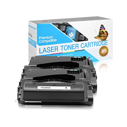 SuppliesOutlet Compatible Toner Cartridge Replacement for HP 42A / Q5942A (Black,2 Pack)