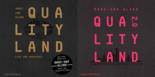 Qualityland + Qualityland 2.0 als Hörbücher im Set + 1 exklusives Postkartenset
